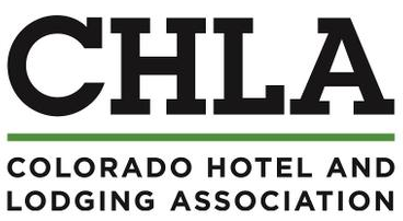 (Colorado Hotel and Lodging Association logo)